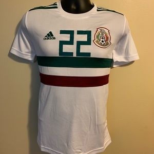 Mexico Away Jersey with #22 Lozano.